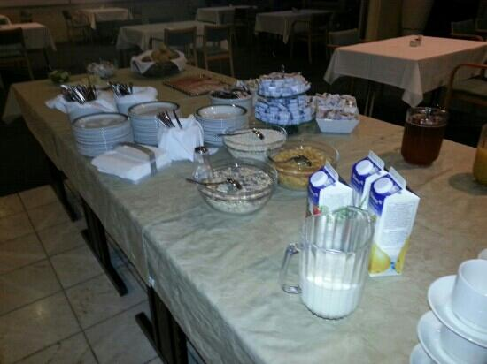 Hotel Impala: breakfast at impala :-/