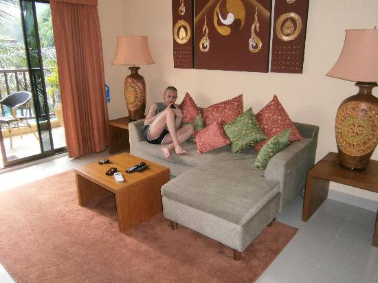 Baan Souy: Wohnbereich