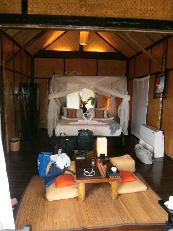 SriLanta Resort: unser Zimmer
