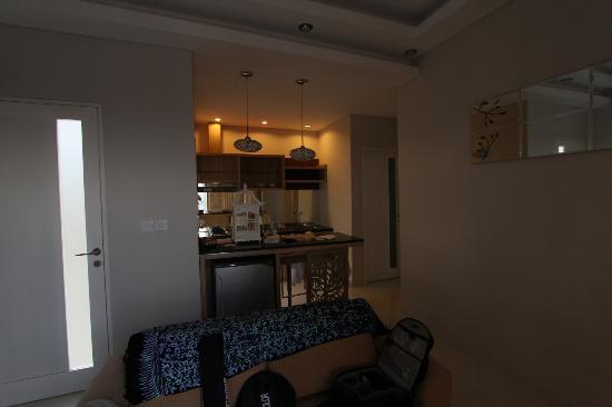 Paradise Loft Villas Jimbaran: Living room