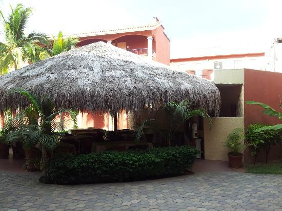 Estancia Real Los Cabos: ZONA DE RESTAURANTE PARA EL DESAYUNO CONTINENTAL