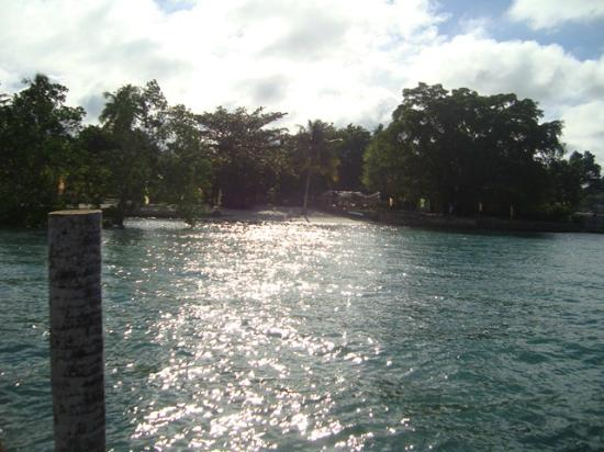 Precious Garden Samal: beach in the mornig