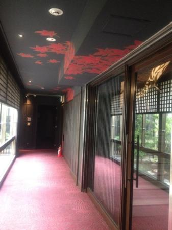 Kizashi The Suite: ホテルの廊下