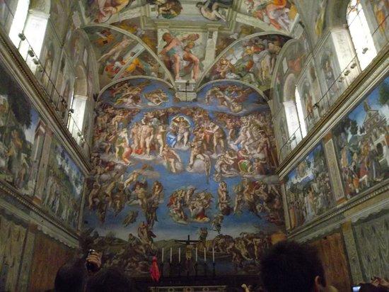 Sixtinische Kapelle: sistine chapel
