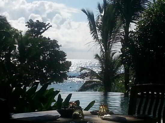 Constance Lemuria: view from the infinity pool