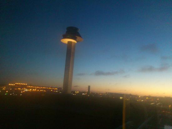 Clarion Hotel Arlanda Airport: Tidig morgon på Arlanda