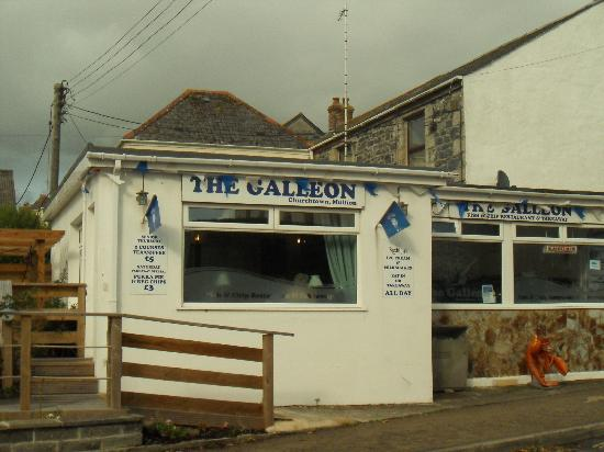 The Galleon: A Great Find in Mullion