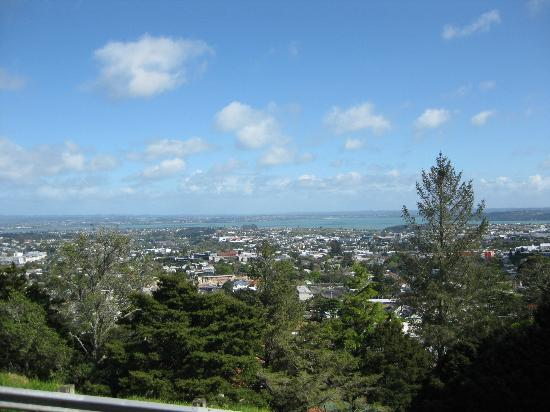 Coast-to-Coast Walkway : A view from Mount Eden