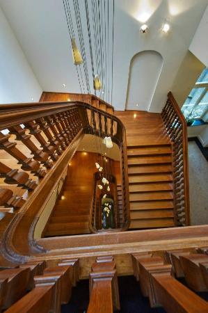Hotel Merici: trappenhuis