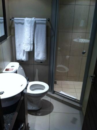 Protea Hotel Pretoria Hatfield: Bathroom