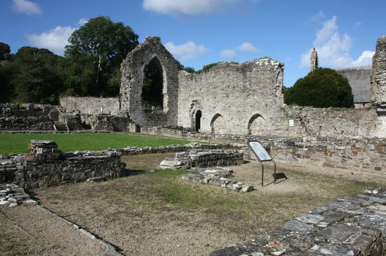 St. Dogmaels Abbey: St Dogmaels Abbey, West Wales