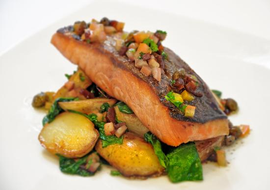 The Seafood Cafe: Salmon fillet