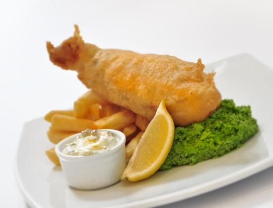 The Seafood Cafe: Freshly battered fish & chips