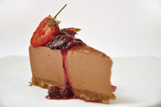 The Seafood Cafe: Homemade cheesecake