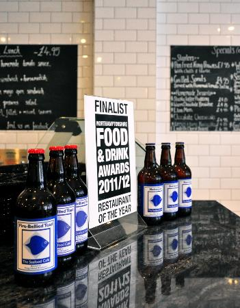 The Seafood Cafe: Local beer