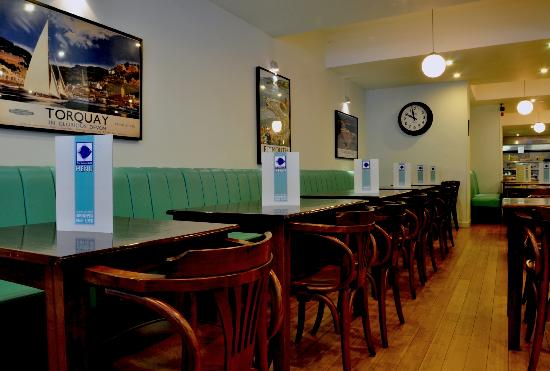 The Seafood Cafe: Inside