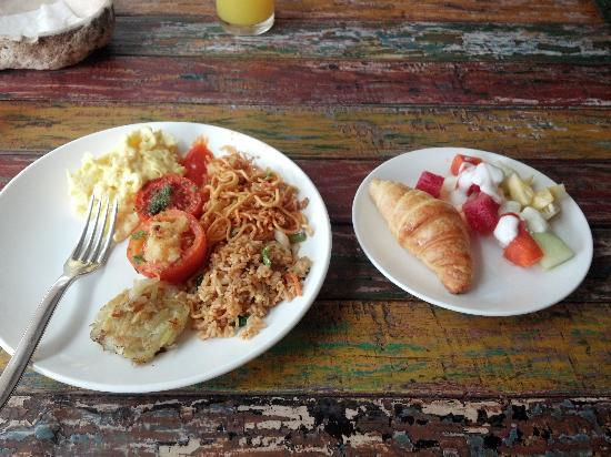 Bliss Surfer Hotel: my choice for breakfast