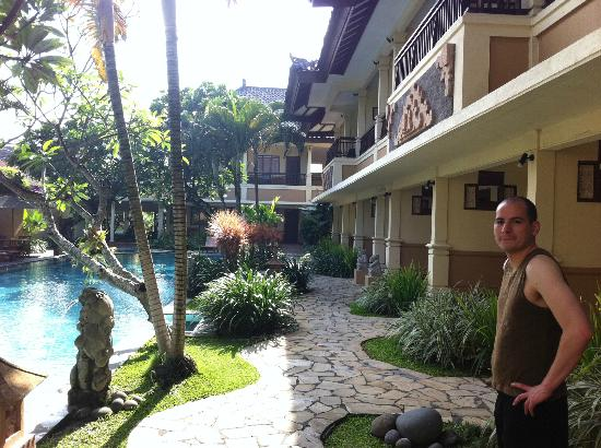 Mutiara Bali Boutique Resort & Villas: The main hotel area