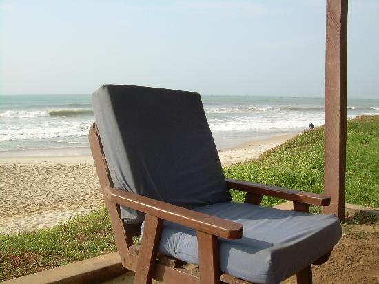 Afia Beach Hotel : La plage
