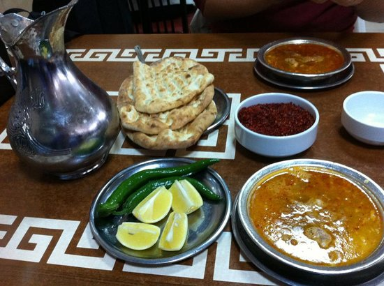 "Metanet Lokantasi : The Beyran soup and its ""friends"""