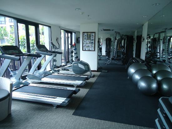 โรงแรมพูลแมน บาหลี ลีเกี้ยน เนอร์วานา: Gym.