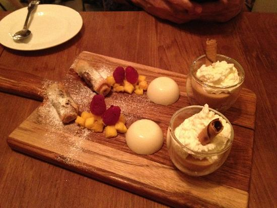 Platters: Dessert from 2nd chef
