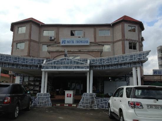 Tropicana Hotel Malabo: Exterior del Hotel Tropicana