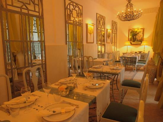 Riad Idra: Fancy dining
