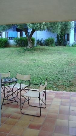 Candia Park Village: terasse vom zimmer