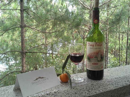 Dalat Edensee Resort & Spa: Enjoying Vang Dalat on the Balcony