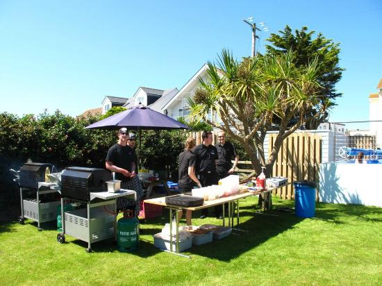 Sands Resort Hotel & Spa: Summer BBQ by the Pool