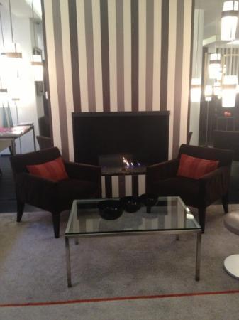 Hotel Le A: lobby