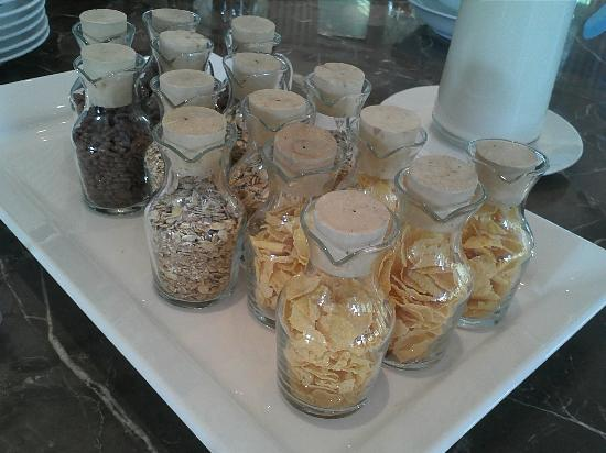 Dalat Edensee Resort & Spa: Cereals presented in a creative fashion