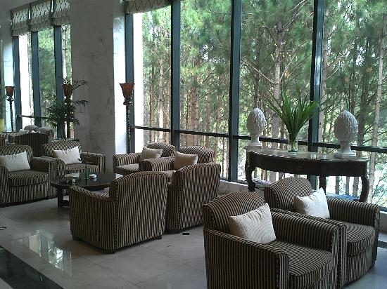 Dalat Edensee Resort & Spa: Beautiful view from the lobby