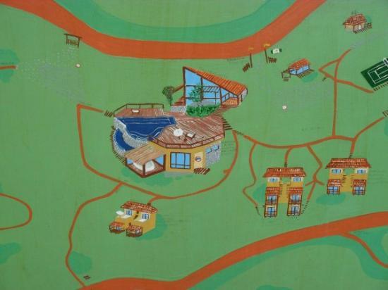 Refugio do Estaleiro: mapa