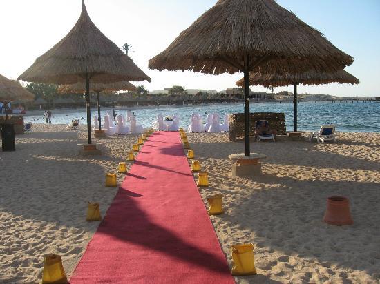 Movenpick Resort El Quseir : allestimento cerimonia