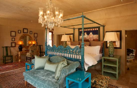 La Residence: Room 8 - the Chambre Bleu Suite