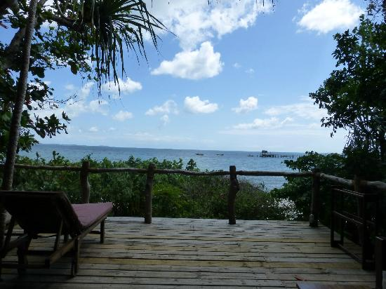 Fundu Lagoon: view from the room