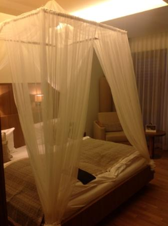 St. Martins Therme & Lodge: zimmer mit himmelbett