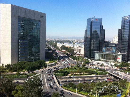 Swissotel Beijing Hong Kong Macau Center: uitzicht op de stad
