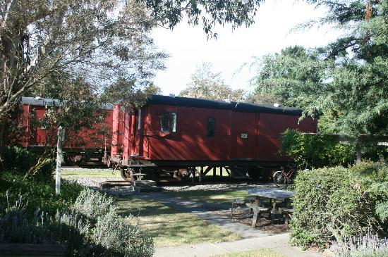 Waipara Sleepers: the carriages