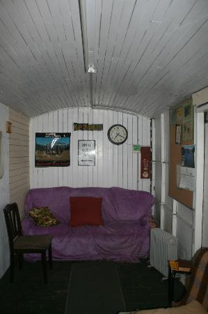 Waipara Sleepers: Inside the TV Lounge Carriage