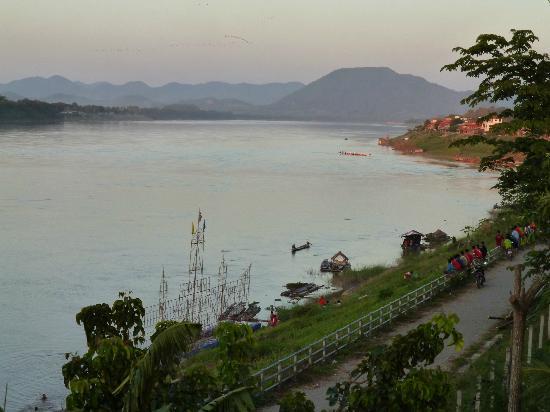 Chiang Khan, تايلاند: โค้งแก่ง 