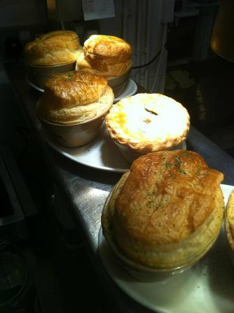 The Crown & Tuns - Puddingface, The Pie Place: What we are famous for.......... Pies