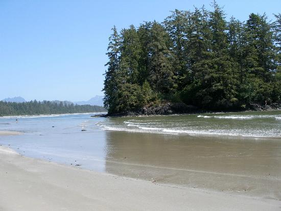 Pacific Rim National Park : Schooner Cove Beach
