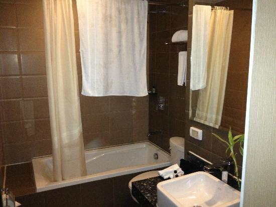 Goldberry Suites & Hotel: Bathroom