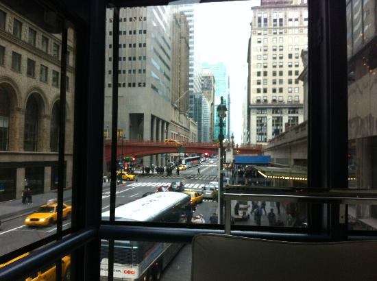 Grand Hyatt New York: view from the restaurant