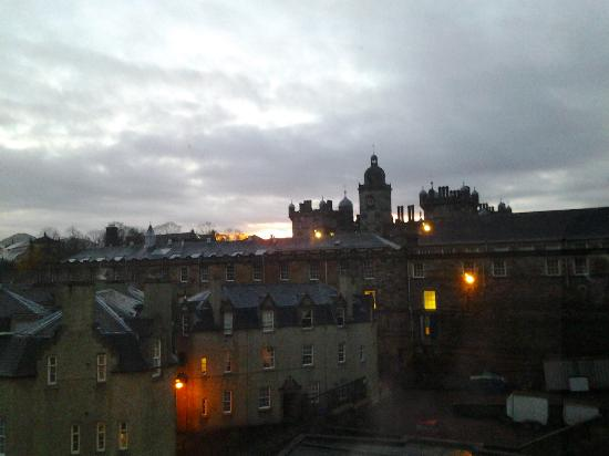 ‪‪Apex Grassmarket Hotel‬: View from our room