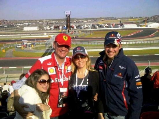 Circuit of The Americas: Gran Premio de los Estados Unidos desde la tribuna 15