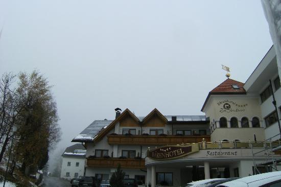 Baerenhotel: lato ovest